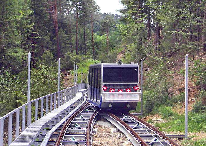 New rail wagon 2005 / Photo: Heinz Rieder