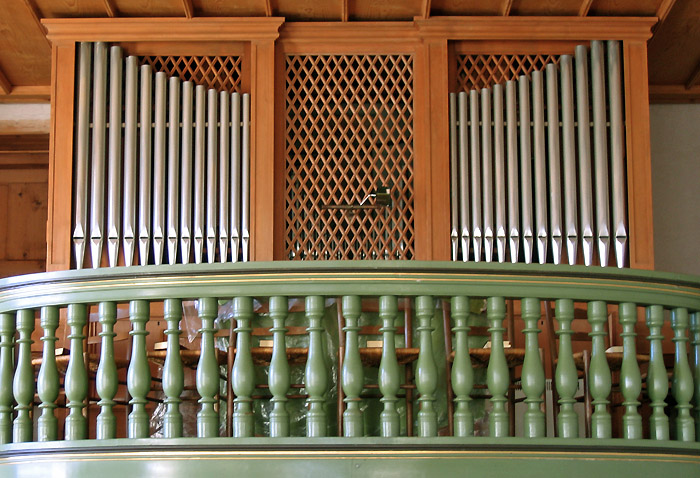 Organ pipes / Photo: Heinz Rieder