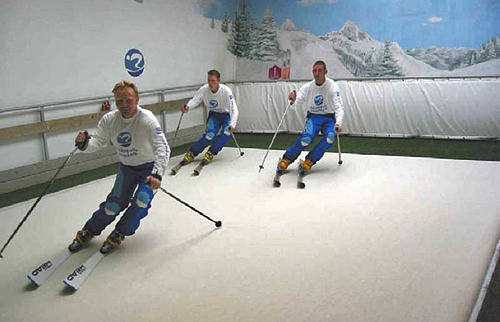 Swiss Indoor Skiing