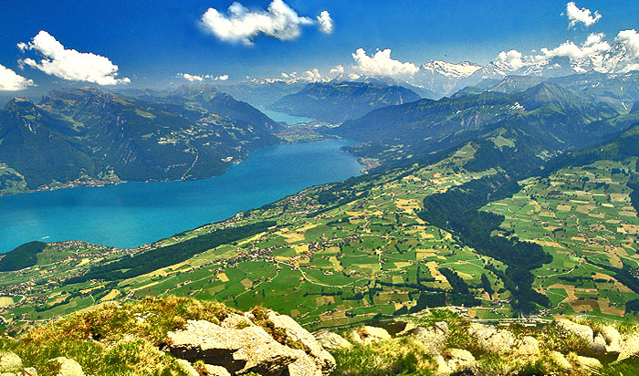 Thunersee /  Brienzersee