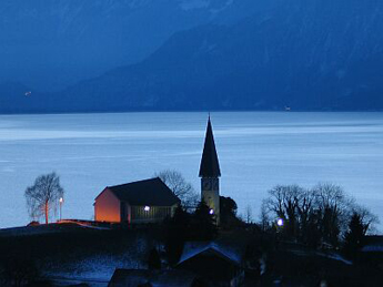 Church Faulensee (Photo: Fritz Bieri)