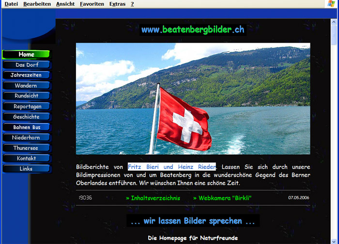 Homepage 9 Privat / 2006