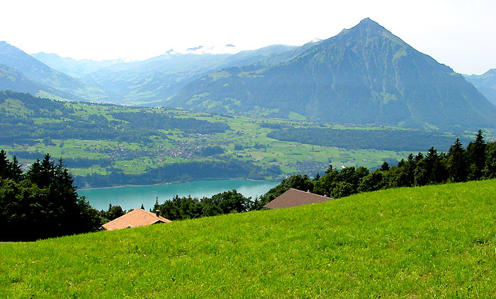 Lake of Thun with Niesen / Photo: Heinz Rieder