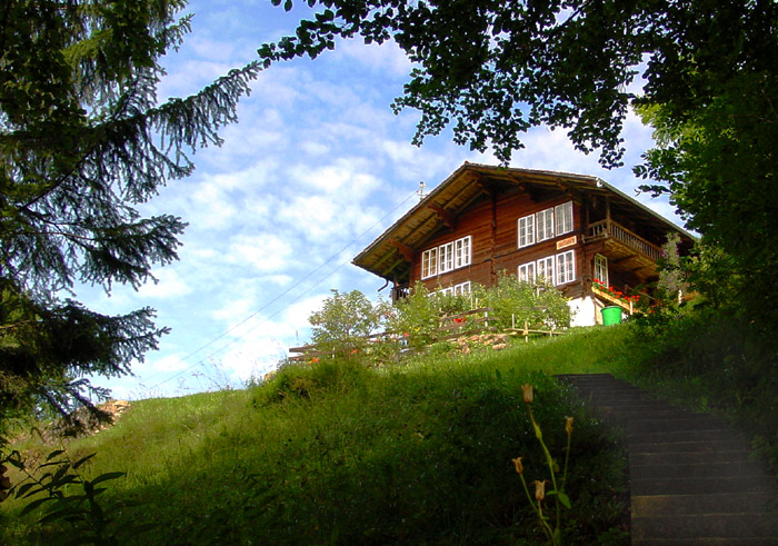 Chalet Gütsch / Photo: Heinz Rieder