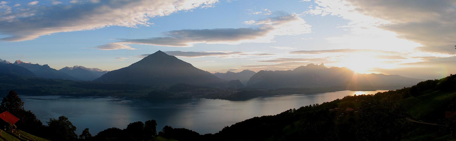 The spectacular Region of Beatenberg (Berner Oberland, Switzerland ... Railway